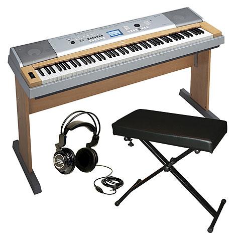 Yamaha DGX-630 Bundle inkl  Keyboardbank und Kopfhörer