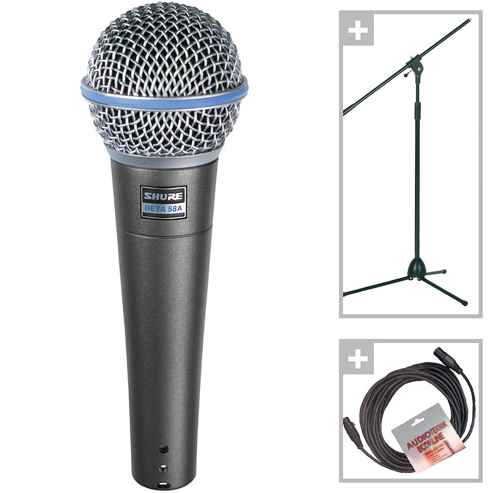Shure Beta 58A Set Microphone