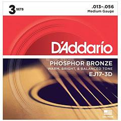 D'Addario EJ17-3D .013-056