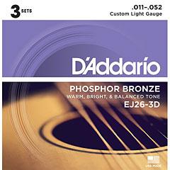 D'Addario EJ26-3D .011-052 « Western Gitaar  Snaren
