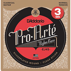 D'Addario EJ45-3D Pro-Arté « Classical Guitar Strings
