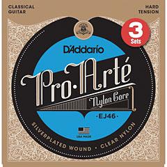D'Addario EJ46-3D Pro-Arté « Corde guitare classique