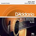 Set di corde per chitarra western e resonator D'Addario EJ10 .010-047
