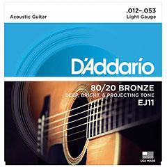 D'Addario EJ11 .012-053 « Western & Resonator Guitar Strings