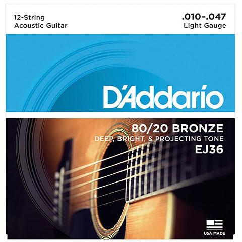 D'Addario EJ36 .010-047