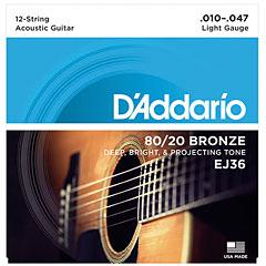 D'Addario EJ36 .010-047 « Western & Resonator Guitar Strings