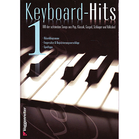 Recueil de Partitions Voggenreiter Keyboard-Hits 1