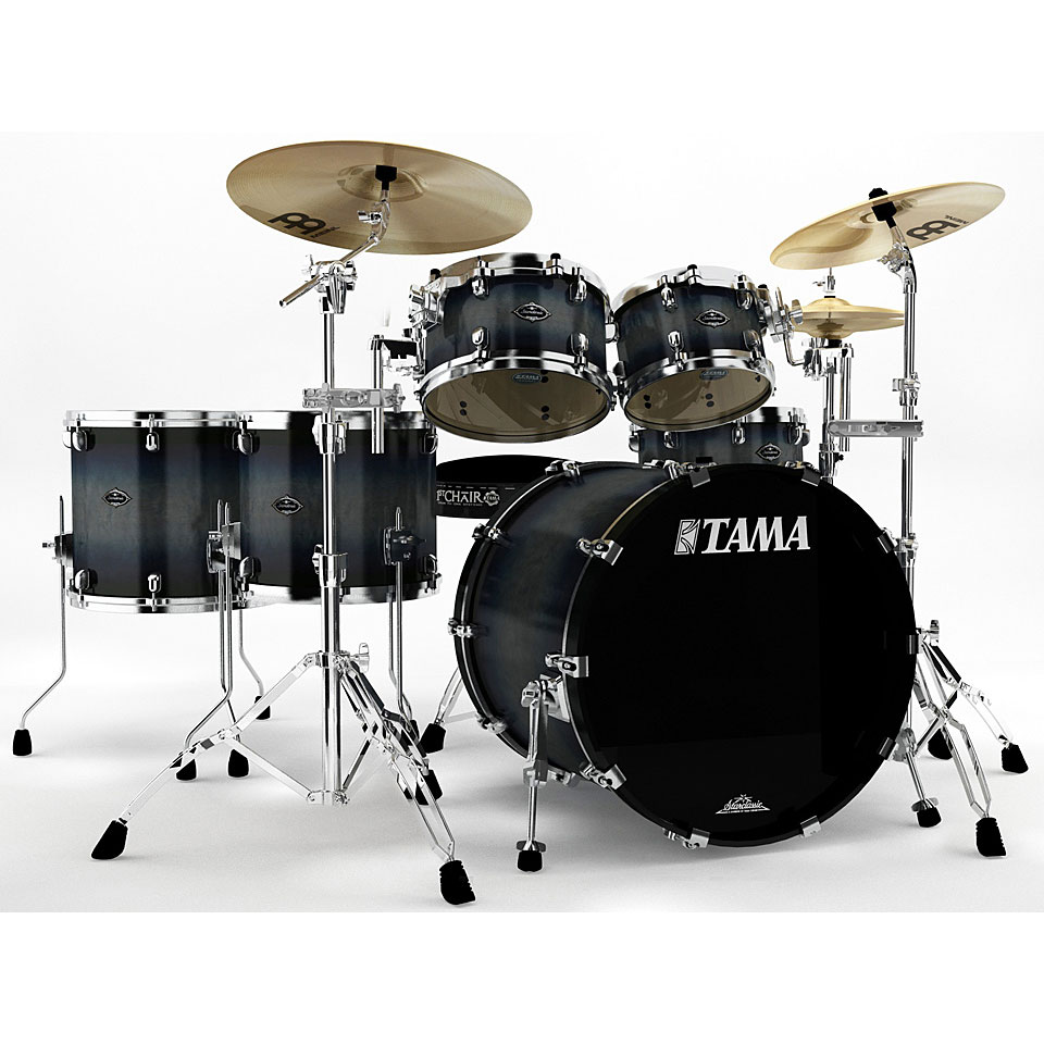 Tama starclassic performer pl62hxz2 sib drum kit for Classic house drums
