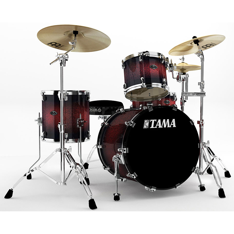 Tama starclassic performer pl40zs rsb drum kit for Classic house drums