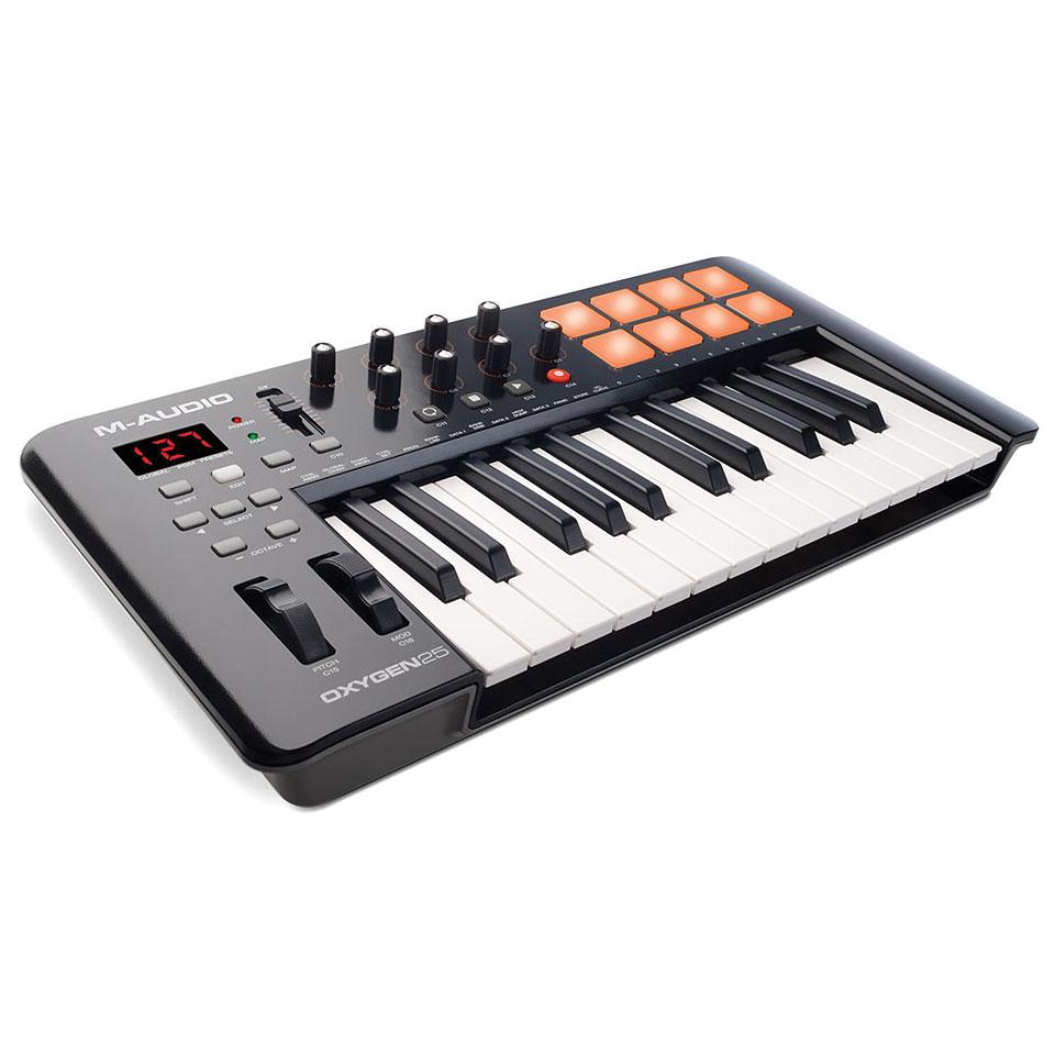 Midimasterkeyboards - M Audio Oxygen 25 MK4 Masterkeyboard - Onlineshop Musik Produktiv