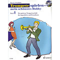 Εκαπιδευτικό βιβλίο Schott Trompete spielen - mein schönstes Hobby Bd.1