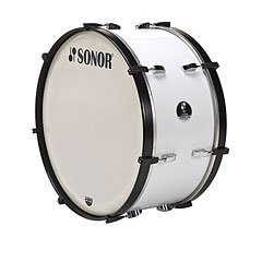 "Sonor Comfort Line Marching Bass Drum 26"" x 12"" White « Große Trommel"