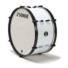 "Sonor Comfort Line Marching Bass Drum 26"" x 14"" White « Große Trommel"