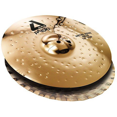 Paiste Alpha Brilliant 14  Metal Edge HiHat