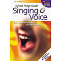 Libros guia Schott Praxis Guide Singing Voice