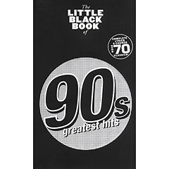 Music Sales The Little Black Book of 90's Hits « Recueil de morceaux
