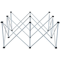 Intellistage 1x1x0,60m Podestfuß