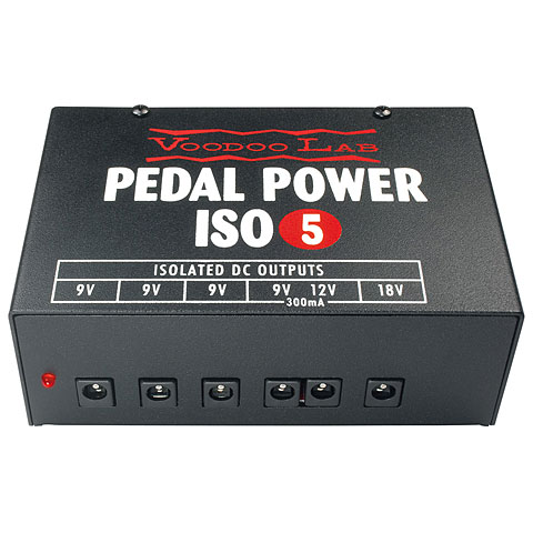 Alimentation guitare/basse VoodooLab Pedal Power ISO-5