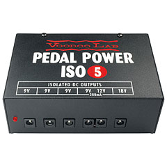 VoodooLab Pedal Power ISO-5 « Guitar/Bass Power Supplies