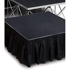 Intellistage Bühnenvorhang 2x0,40m