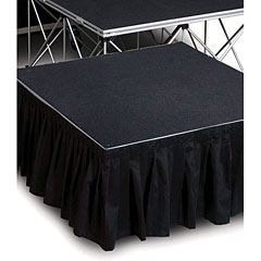 Intellistage Stage Skirt 2 x 0,4 m