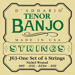 D'Addario J63 Tenor Banjo « Saiten Zupfinstrument