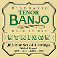 Cordes pour instrument à corde D'Addario J63 Tenor Banjo