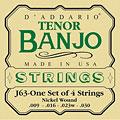 Saiten Zupfinstrument D'Addario J63 Tenor Banjo