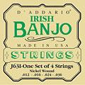 Saiten Zupfinstrument D'Addario J63i Irish Banjo