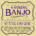 Saiten Zupfinstrument D'Addario J57 5-String Banjo