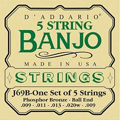 D'Addario J69B 5-String Banjo « Saiten Zupfinstrument