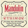 D'Addario J74 Mandolin « Cuerdas