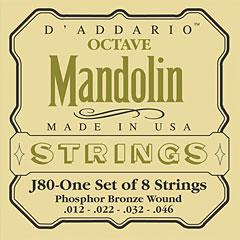 D'Addario J80 Octave Mandolin « Saiten Zupfinstrument