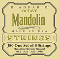 Saiten Zupfinstrument D'Addario J80 Octave Mandolin