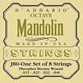 Snaren Tokkelinstr. D'Addario J80 Octave Mandolin