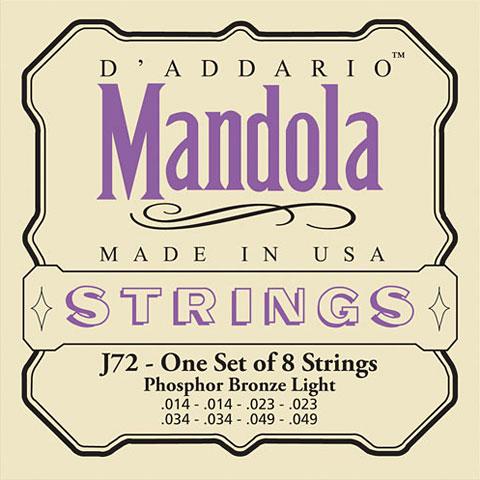 D'Addario J72 Mandola