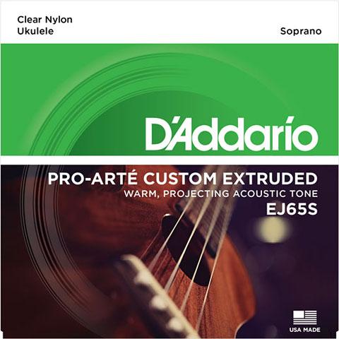 Cuerdas D'Addario J65 Ukulele