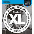 Saiten E-Gitarre D'Addario EXL148 Nickel Wound .012-060
