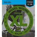 Струны для электрогитары  D'Addario EXL117 Nickel Wound .011-056