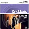 Cuerdas guitarra acúst. D'Addario EJ13 .011-052