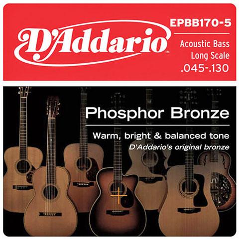 D'Addario EPBB170-5 .045-130