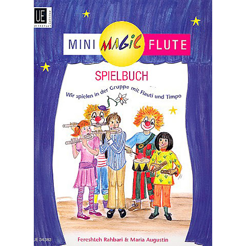 Universal Edition Mini Magic Flute Spielbuch