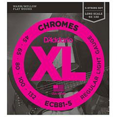 D'Addario ECB 81-5 Chromes .045-132 « Cuerdas bajo eléctrico