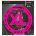 Set di corde per basso elettrico D'Addario ECB 81-5 Chromes .045-132