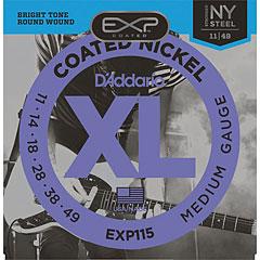 D'Addario EXP115 .011-049 « Electric Guitar Strings