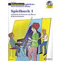 Recueil de Partitions Schott Klarinette spielen - mein schönstes Hobby Spielbuch 1