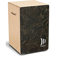 Schlagwerk CP4006 la Perù Night Burl (Medium) « Cajón flamenco