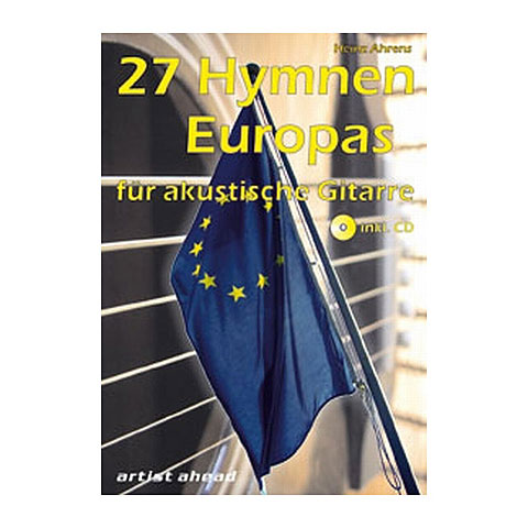 Artist Ahead 27 Hymnen Europas für akustische Gitarre