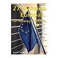 Music Notes Artist Ahead 27 Hymnen Europas für akustische Gitarre
