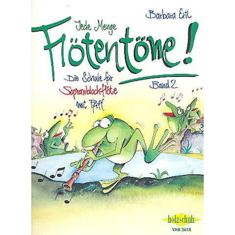 Libros didácticos Holzschuh Jede Menge Flötentöne Bd.2